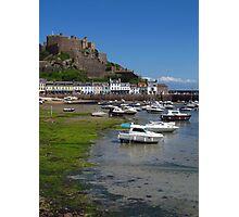 In Coming Tide, Gorey, Jersey Photographic Print