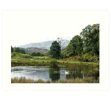 Elterwater, Cumbria Art Print
