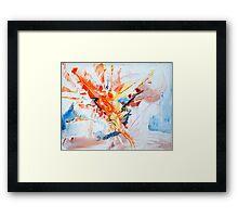 Orange Blossom Framed Print