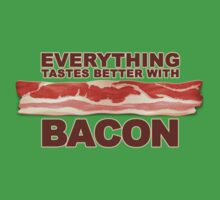 Everything Tastes Better With Bacon  One Piece - Short Sleeve