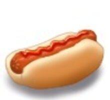 Tiny Hot Dog by farorenightclaw