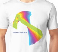 Flying tomahawk Unisex T-Shirt