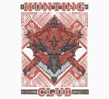 Hunting Club: Rathalos One Piece - Long Sleeve