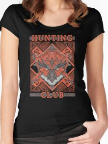 Hunting Club: Rathalos Women's Fitted Scoop T-Shirt