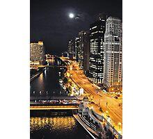 Chicago River ~ Chicago, IL Photographic Print