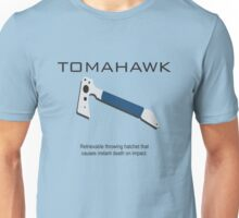Tomahawk description Unisex T-Shirt
