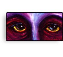 Purple Eyes Canvas Print