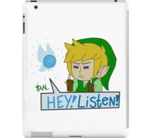 Hey! Listen! iPad Case/Skin