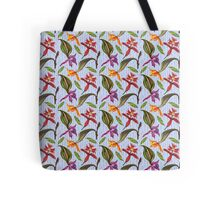 Orchids and Ink (Flowers)  Tote Bag