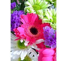 A vibrant bunch of flowers Photographic Print