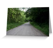 Going up around the bend! Greeting Card