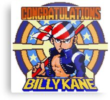 Billy Kane - SNK Sprite Metal Print