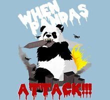 When Pandas Attack! Unisex T-Shirt
