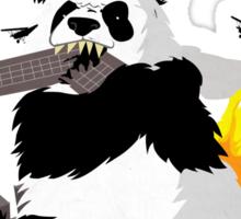 When Pandas Attack! Sticker