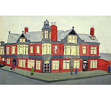 012 - NORTH SEATON HOTEL, ASHINGTON - DAVE EDWARDS - POSTER PAINTS - 1967  Photographic Print
