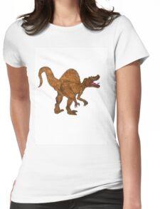 spinosaurus dinosaur shirt Womens Fitted T-Shirt