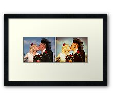 true believers before & after Framed Print