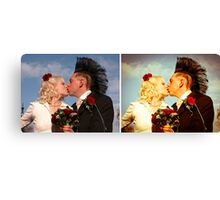 true believers before & after Canvas Print