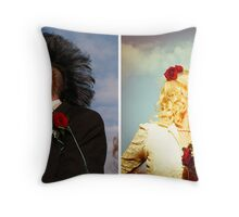 true believers before & after Throw Pillow
