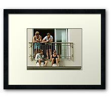 Beer Buds Framed Print