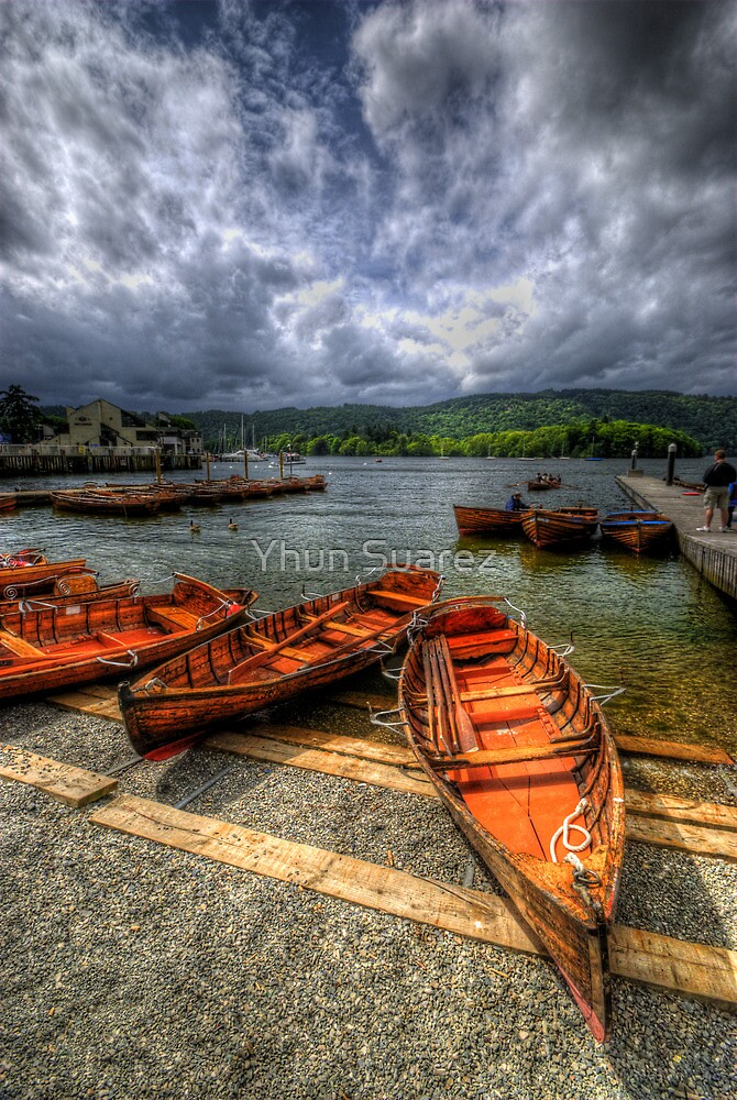Windermere Boats by Yhun Suarez