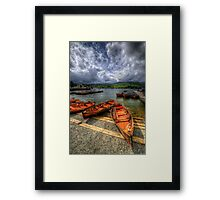 Windermere Boats Framed Print