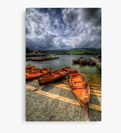 Windermere Boats Canvas Print