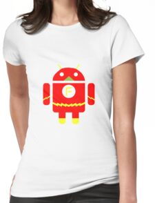 FlashDroid Womens Fitted T-Shirt