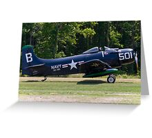 "1949 Douglas AD-4 ""Skyraider"" Greeting Card"