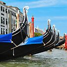 AFTER THE RAIN ON THE GRAND CANAL by Thomas Barker-Detwiler