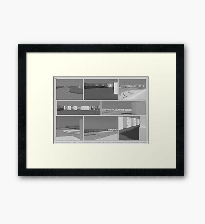 renders Framed Print