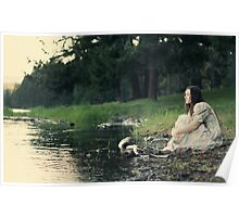 Peaceful recollections.  Poster