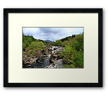 The Beautiful Glen Orchy Falls Framed Print