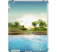 Storybook Landscape Ocean Scene iPad Case/Skin