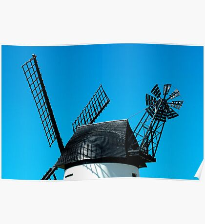 Windmill Detail Poster