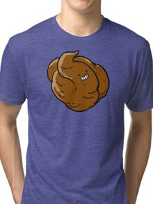 P is for poop Tri-blend T-Shirt