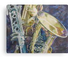 Bouquet of Reeds Metal Print