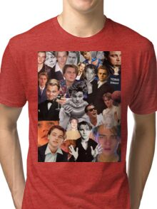 Leonardo Dicaprio Collage Tri-blend T-Shirt