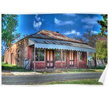 Bryant's Butcher's Shop, Hill End, NSW, Australia Poster