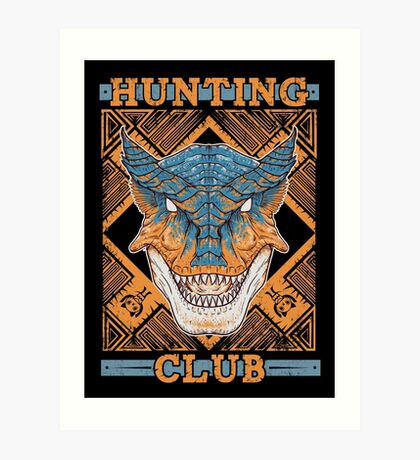 Hunting Club: Tigrex Art Print