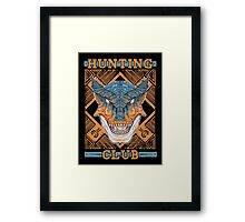 Hunting Club: Tigrex Framed Print