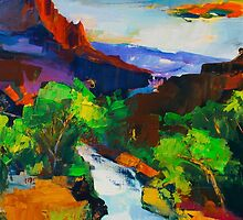 ZION - The Watchman and the Virgin River by Elise Palmigiani