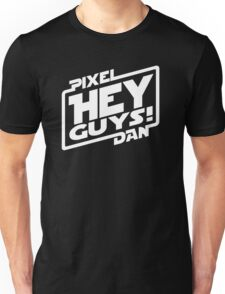 """Hey Guys!"" Logo Unisex T-Shirt"
