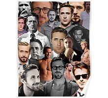 Ryan Gosling Collage Poster