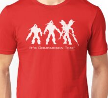 """It's Comparison Time"" - Mosquito Unisex T-Shirt"