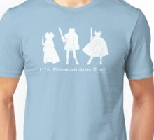 """It's Comparison Time"" - Powerful Princess Unisex T-Shirt"