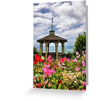 A Garden by the Sea Greeting Card