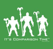 """It's Comparison Time"" - Skullface Kids Tee"