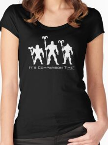 """""""It's Comparison Time"""" - Skullface Women's Fitted Scoop T-Shirt"""