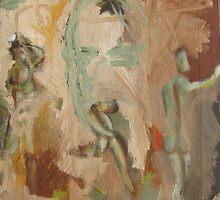 The Bathers of Cezanne by Jedika